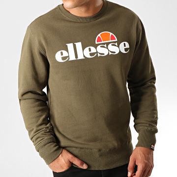 Ellesse - Sweat Crewneck Succiso SHC07930 Vert Kaki