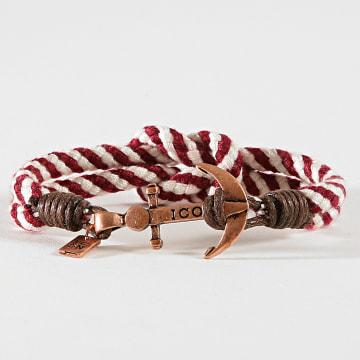 Bracelet LE1113 Blanc Bordeaux