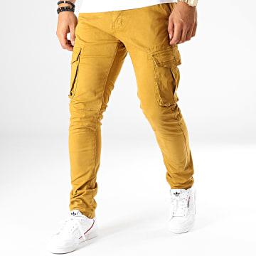 MTX - Pantalon Chino 77282 Jaune Moutarde