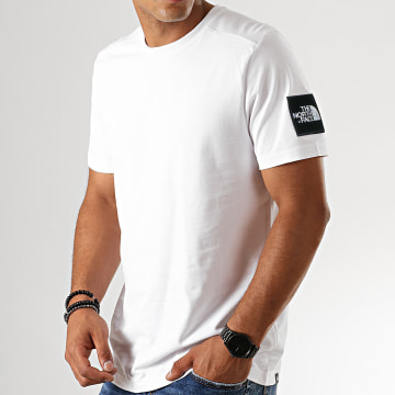 The North Face - Tee Shirt Fine 2 0A3YHC Blanc