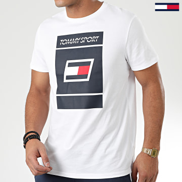 Tommy Sport - Tee Shirt  Graphic 0193 Blanc