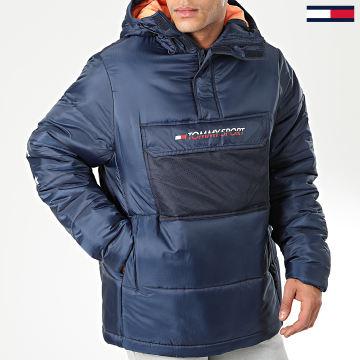 Tommy Sport - Doudoune Block Insulation 0264 Bleu Marine