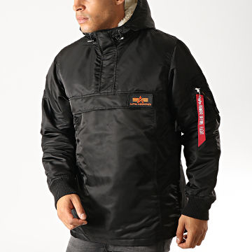 Alpha Industries - Veste Outdoor Fourrure HPO 178139 Noir