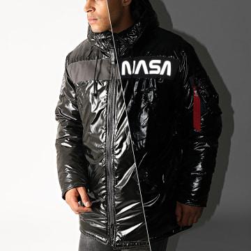 Alpha Industries - Doudoune Réfléchissante NASA N-3B 198157 Noir