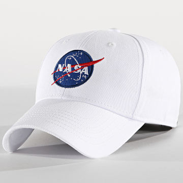Alpha Industries - Casquette NASA Blanc