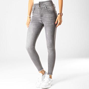 Jean Skinny Femme DZ62 Gris