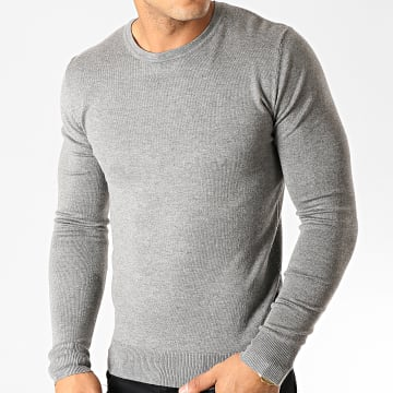 Pull 32082 Gris Chiné