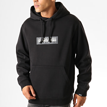 Sweat Capuche Box NP000KBT Noir