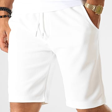 Uniplay - Short Jogging UP-T3508 Blanc Crème