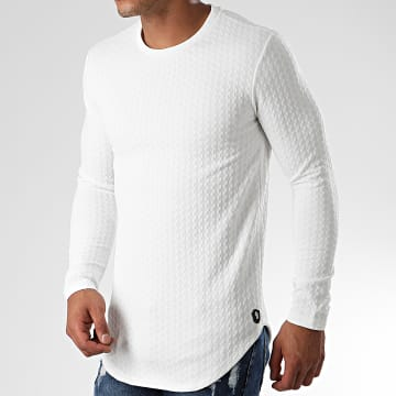 Tee Shirt Oversize Manches Longues UY429 Ecru