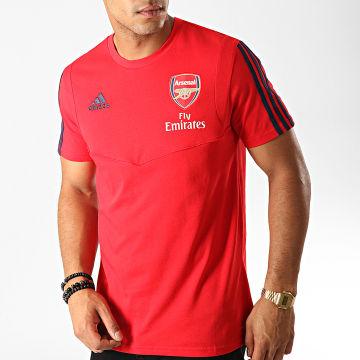 Adidas Performance - Tee Shirt De Sport A Bandes Arsenal FC EH5709 Rouge