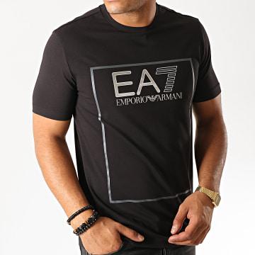 Tee Shirt 6GPT09-PJ20Z Noir Argenté