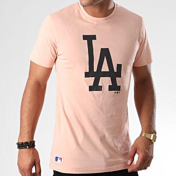 Tee Shirt MLB Seasonal Team Logo Los Angeles Dodgers 12033504 Rose