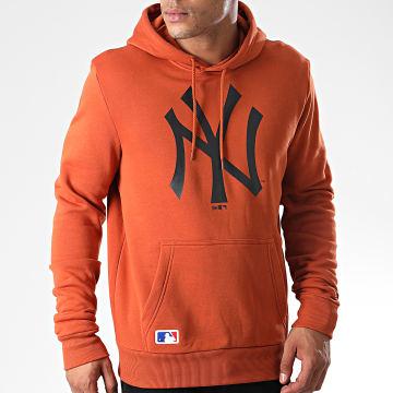 Sweat Capuche MLB Seasonal Team Logo New York Yankees 12033506 Orange