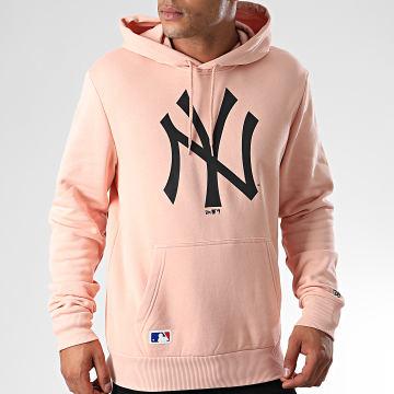 Sweat Capuche MLB Seasonal Team Logo New York Yankees 12033508 Rose