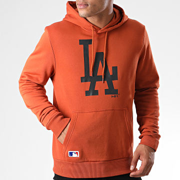 New Era - Sweat Capuche MLB Seasonal Team Logo Los Angeles Dodgers 12033510 Orange