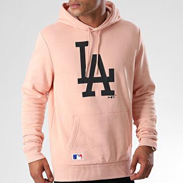 Sweat Capuche MLB Seasonal Team Logo Los Angeles Dodgers 12033512 Rose