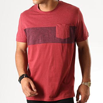 Tom Tailor - Tee Shirt Poche 1013573-00-12 Rouge Brique