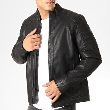 Tom Tailor - Veste Zippée 1011442-00-12 Noir