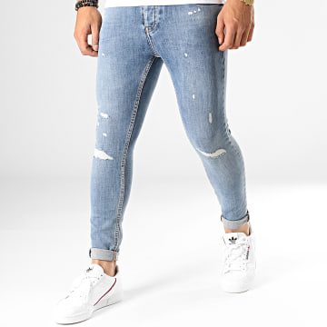 Jean Slim 4399 Bleu Wash