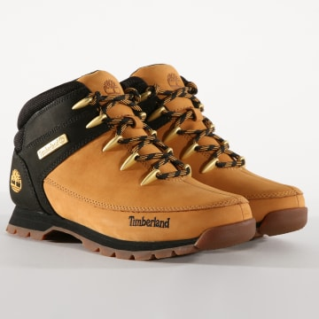 Timberland - Boots Euro Sprint Mid Hiker A1NHJ Wheat Nubuck Black