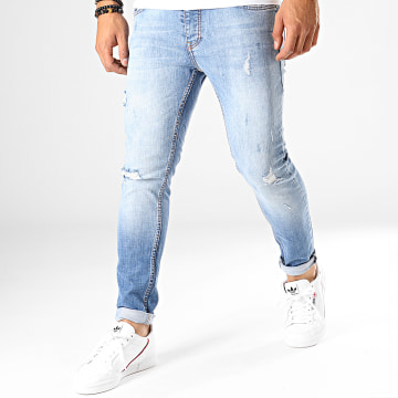 Jean Slim 4407 Bleu Wash
