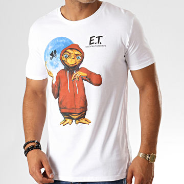 E.T. L'Extraterrestre - Tee Shirt Hoodie Blanc