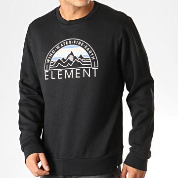 Element - Sweat Crewneck Odyssey Noir Blanc