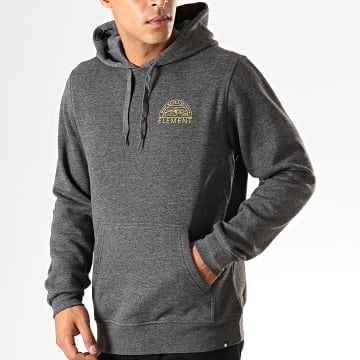 Element - Sweat Capuche Odyssey Gris Anthracite Chiné