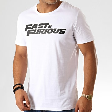 Fast & Furious - Tee Shirt Fast And Furious Blanc