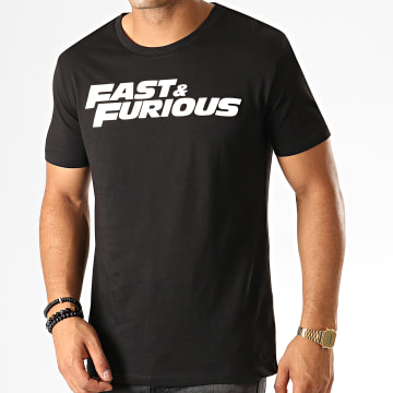 Fast & Furious - Tee Shirt Fast And Furious Noir