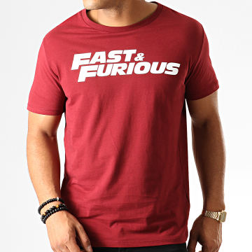 Fast & Furious - Tee Shirt Fast And Furious Bordeaux