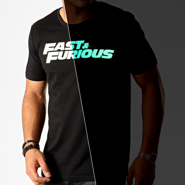 Fast & Furious - Tee Shirt Fast And Furious Glow In The Dark Noir