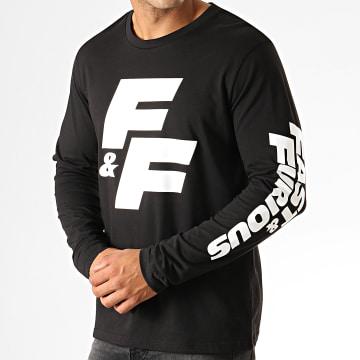 Fast & Furious - Tee Shirt Manches Longues FF Noir