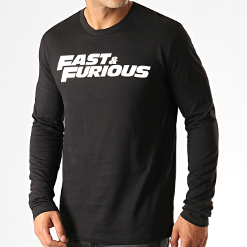 Fast & Furious - Tee Shirt Manches Longues Fast And Furious Noir