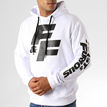 Fast & Furious - Sweat Capuche FF Blanc