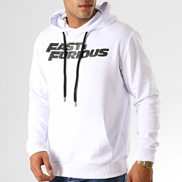 Fast & Furious - Sweat Capuche Fast And Furious Blanc