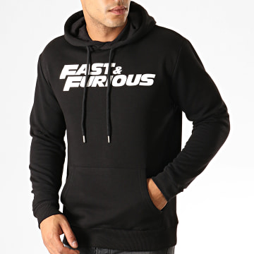Fast & Furious - Sweat Capuche Fast And Furious Noir