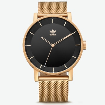 adidas - Montre District M1 Z041604 Gold Black Sunray