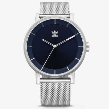 adidas - Montre District M1 Z042928 Silver Navy Sunray