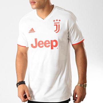 Maillot De Foot Juventus DW5461 Beige Rouge