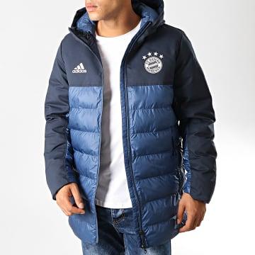 Adidas Performance - Doudoune FC Bayern Seasonal Special Padded EB7564 Bleu Marine Blanc