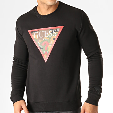 Guess - Sweat Crewneck Slim M94Q46-K92H0 Noir