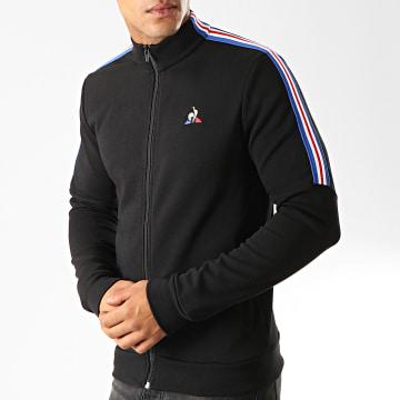 Veste Zippée A Bandes Tricolore Saison N3 1921929 Noir