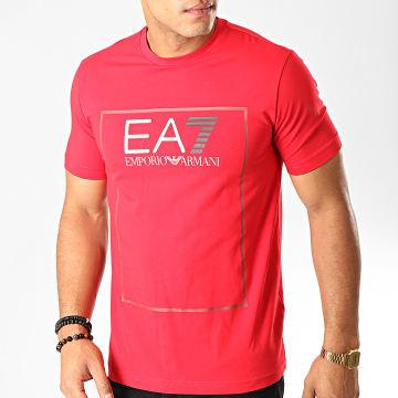 Tee Shirt 6GPT09-PJ20Z Rouge Argenté