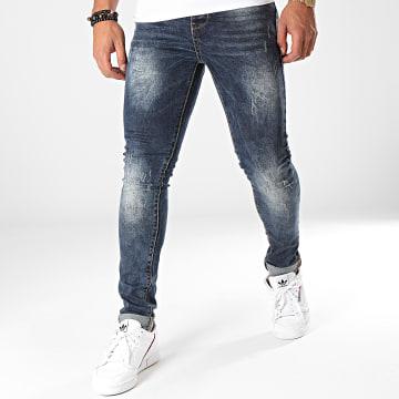 Jean Skinny LB72243 Bleu Denim Foncé