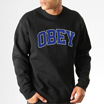 Sweat Crewneck Sports Noir