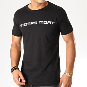 Tee Shirt Temps Mort Noir