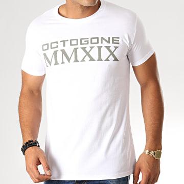 Tee Shirt Octogone Blanc
