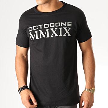 Tee Shirt Octogone Noir